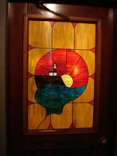 Lighthouse Stained Glass, Montauk LI