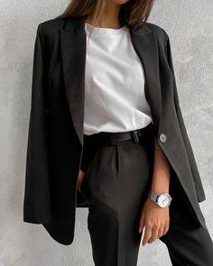 Workwear Fashion, Fall Fashion Outfits, Mode Outfits, Look Fashion, Korean Fashion, Girl Fashion, Winter Outfits, Fashion Beauty, Fashion Trends