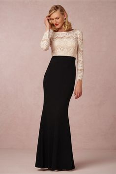 Irina An Elegant Black And White Gown For Mothers Of The Bride Or