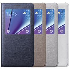 Genuine Samsung Galaxy Note 5 S View Cover Case 4 colors Flip made in Korea #Samsung