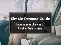 Still not hearing back even after putting in long hours filling out job applications? Your resume could be what's stopping you from getting your foot in the door.