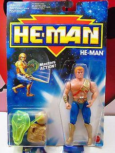 HE-MAN New Adventures 2274 Heroics Masters Action Figure 1988 Mattel MOTU RARE