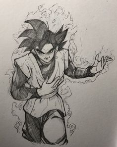 Cool Cartoon Drawings, Dbz Drawings, Comic Drawing, Goku Manga, Ball Drawing, Dragon Ball Z, Scary Art, Sketches, Black Goku