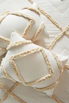Anthropologie Textured Corell Shams, Set of 2 Diy Pillows, Decorative Pillows, Cushions, Throw Pillows, Cushion Covers, Pillow Covers, Deco Boheme Chic, Brown Decor, Punch Needle