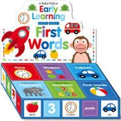 First words baby books Baby Books, Children's Books, One Word, Early Learning, Toys, Activity Toys, Toy, Early Years Education, Children Books