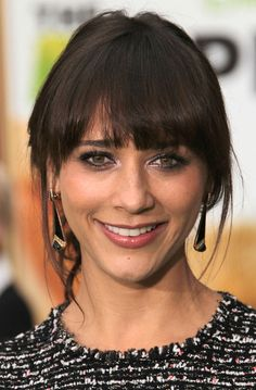rashida jones shoulder length hair - Google Search