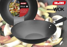 If you like Asian food, you need a WOK. Two sizes, 30 and 34cm. Choose yours!