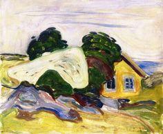 The Athenaeum - House in Åsgårdstrand (1905) (Edvard Munch - )