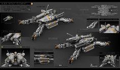 ArtStation - Alien Scout Element, Alexey Pyatov