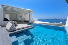 Where to stay in Santorini? 10 most amazing hotels for your next holiday! Hotels In Santorini Greece, Santorini Honeymoon, Greece Honeymoon, Honeymoon Hotels, Mykonos Greece, Crete Greece, Athens Greece, Honeymoon Suite, Romantic Vacations