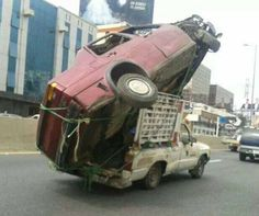 Funny pictures about Who Needs A Tow Truck? Oh, and cool pics about Who Needs A Tow Truck? Also, Who Needs A Tow Truck? Safety Fail, Weird Pictures, Nostalgic Pictures, Tow Truck, Funny Photos, Dumb And Dumber, Transportation, Monster Trucks, Hilarious
