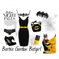 Batgirl, created by luna-lin on Polyvore