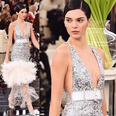 Last night we dreamt of Chanel Couture this morning we woke up to an empty bank account and January blues.  #kendalljenner #chanel #chanelcouture  via INSTYLE UK MAGAZINE OFFICIAL INSTAGRAM - Fashion Campaigns  Haute Couture  Advertising  Editorial Photography  Magazine Cover Designs  Supermodels  Runway Models