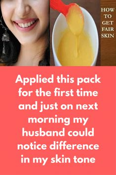 Applied this pack for the first time and just on next morning my husband could notice difference in my skin tone In this post,  I have shown how to make a skin brightening face mask at home to brighten your face in just 15 minutes. For this you will need 2 spoon besan 1 tbsp Honey 1 tsp lemon juice A pinch of Turmeric 2 tsp milk Method to follow: In a clean bowl add besan … #SkinCareMasks Honey Face Mask, Diy Face Mask, Face Masks, Turmeric Face Pack, Lemon Juice Face, Skin Care Masks, Clear Face, Lighten Skin