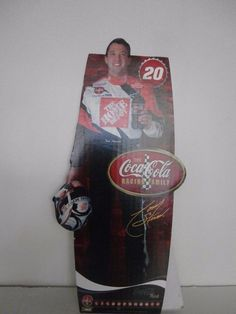 Tony Stewart Standing Cardboard Cutout - Coke NASCAR Collectible