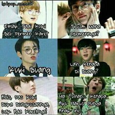Trendy memes bts sub indo ideas Best Memes 2017, New Memes, Memes Funny Faces, Funny Texts, Korea, Bts Aesthetic Pictures, Real Life Quotes, Relationship Memes, School Humor