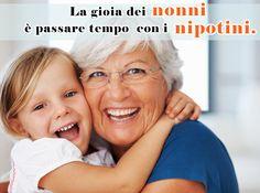 La gioia dei nonni #nonni #nipoti