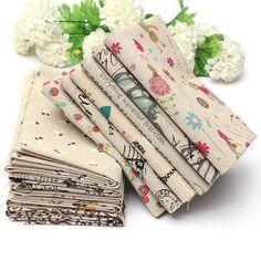 #NewChic - #NewChic Cartoon Cotton Linen Fabric Cloth Patchwork For DIY Table Bedding Curtain - AdoreWe.com
