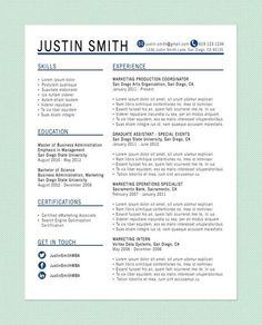 10 resume writing tips from an HR Rep - illistyle.com---I REALLY like the layout of this resume!: