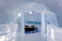 Spend a night in an 'Ice Hotel'