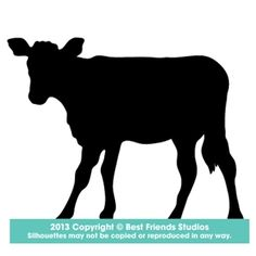 Calf Silhouette from Best Friends Studios