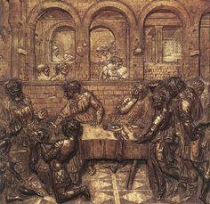 Donatello - Herodova hostina (1425)