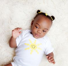 Luc&Lou Sunshine onesie. This onesie brings a ray of light to your little boy or girl. The pop of yellow will shine through all four seasons. For every onesie purchased, another onesie is donated to a baby in need. www.lucandlou.com #lucandlou #2babies2smiles #onesies @onesie #gift #toddler #oneforone #sunshine #yellow #smile #girl #babyshower