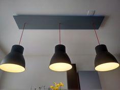 IKEA hack; Hektar lampen in hoogte verstelbaar