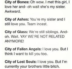 The Mortal Instruments Breakdown Between Jace and Clary :)