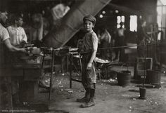 Italian Boy at work. By Lewis Hine