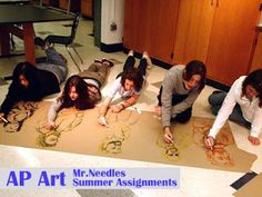 Tuesday, June 12, 2007 AP Art Summer Assignments    The summer assignmnets for next year's AP Studio Art class are listed below. Remember th...