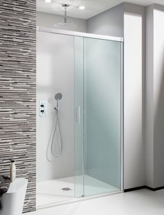 Design Soft Close Single Slider Shower Door