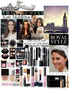 """""""Royal Beauty: Duchess Kate Middleton"""" by moccsie on Polyvore"""