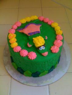 Princess lizard cake from Duff's Cakemix!