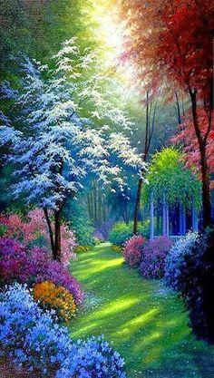 Лес в который попадает не каждый, а лишь тот кто умеет мечтать и верить в чудеса...