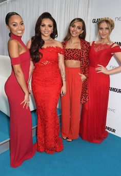 Pin for Later: Seht alle Stars auf dem roten Teppich bei den Glamour Awards! Little Mix