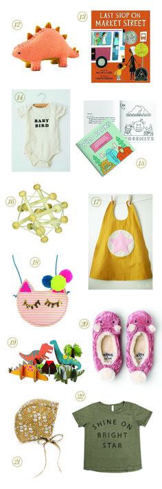 Kid & Baby Gift Guide