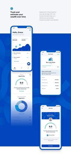 Plano de Vida Investment Mobile App UI UX on Behance – Design is art Design Web, App Ui Design, Dashboard Design, Flat Design, Site Design, Interface Design, Media Design, Design Trends, Graphic Design