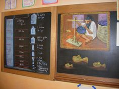 3rd grade Measurement chalk drawing by eugenewaldorf, via Flickr
