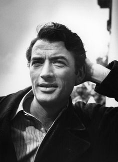 Gregory Peck (a lasting impression: Days of Glory, The Keys of the Kingdom, The Valley of Decision, The Yearling, Duel in the Sun, Gentleman's Agreement, Yellow Sky, Twelve O'Clock High, The Gunfighter, Captain Horatio Hornblower R.N., The World in His Arms, Roman Holiday, Night People, The Purple Plain, Moby Dick , On the Beach, The Guns of Navarone, Cape Fear, How the West Was Won, To Kill a Mockingbird, The Omen, The Boys from Brazil)