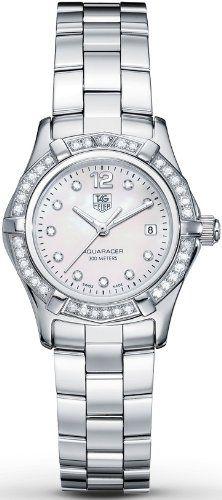 TAG Heuer Women's WAF1416.BA0824 Aquaracer Swiss-Quartz Diamond Mother-Of-Pearl Dial - http://www.uzume.net/tag-heuer-womens-waf1416-ba0824-aquaracer-swiss-quartz-diamond-mother-of-pearl-dial/