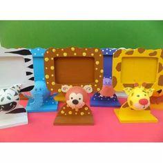Portarretrato Souvenirs Con Animales De La Selva En 3d!!! - $ 565,00
