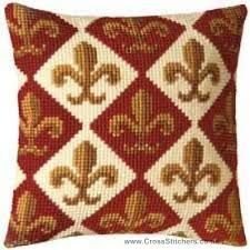 Look no further for your Vervaco pattern 1 cross stitch cushion kit. Cross Stitch Kits, Cross Stitch Designs, Cross Stitch Embroidery, Cross Stitch Patterns, Bargello Needlepoint, Needlepoint Kits, Cross Stitch Cushion, Geometric Cushions, Crochet Cushions