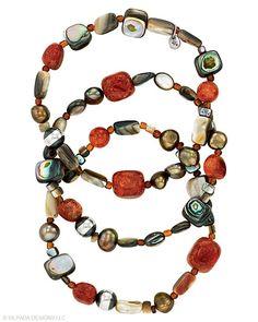 Tuscan Sun Stretch Bracelets, Bracelets - Silpada Designs #Silpada #SilpadaStyle #Sterling #Silver #Style #Jewelry