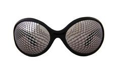 Black Creepy Crawler Bug Eye Glasses Adult Costume Accessory NEW Fly Ant Bee
