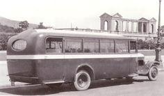 """El Tranvía 48: Los primeros autobuses turísticos de Barcelona. La línea """"Gran Circuito de Lujo"""", la principal y la más importante que se ofrecía para turistas y visitantes de Barcelona."""