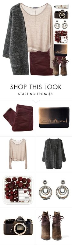 """""""Brinley #450"""" by brie-the-pixie ❤ liked on Polyvore featuring Helmut Lang, SUEDE, Brandy Melville, DANNIJO, Nikon, IRO, TokyoMilk, Fall, casualoutfit and contestentry"""