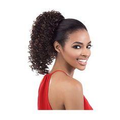 Motown Tress 2 in 1 Half & Ponytail Wig TIO- 121