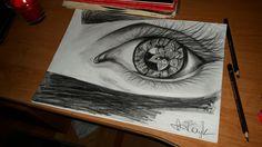 #szkic #oko #eye