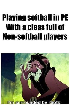 I don't play softball, but this happens in hockey and netball every time!I I don't play softball, but this happens in hockey and netball every time! Funny Softball Quotes, Funny Sports Memes, Sports Humor, Baseball Memes, Baseball Scoreboard, Soccer Memes, Funny Memes, Volleyball Quotes, Volleyball Gifts